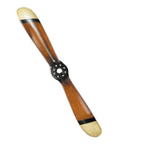 Best Handy Crafts AM Wooden Propeller With Black & Ivory Tips - Small AP144