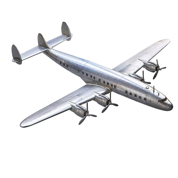 Four Engine Lockhead Constellation Airplane Scale Model