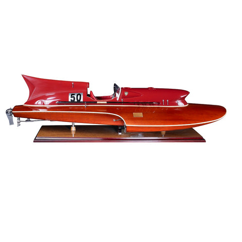 Best Handy Crafts AM Thunderboat Speed Boat Model AS184