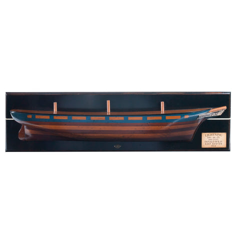 Clipper Lightning 1854 Half Hull-The Best Handy Crafts