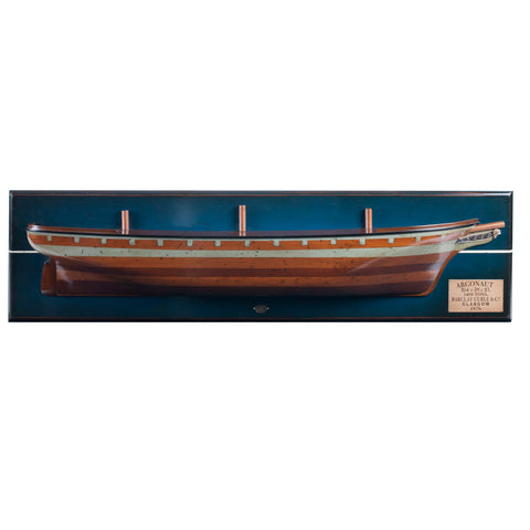 Ship Argonaut 1876 Half Hull-The Best Handy Crafts