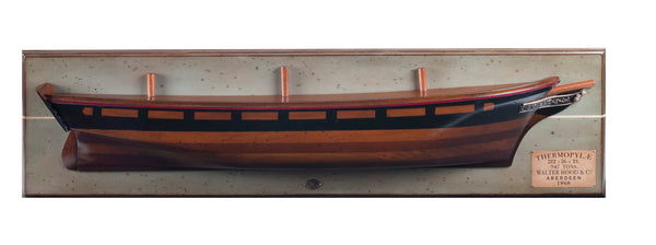 Tea Clipper Thermopylae 1868 Half Hull-The Best Handy Crafts