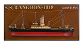 Tramp Steamer Rangoon Half Hull