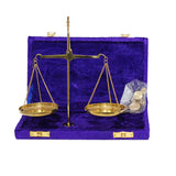 Miniature Balance Scale in Velvet Box-The Best Handy Crafts