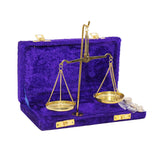 Miniature Balance Scale in Velvet Box
