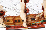 Batavia Painted Ship Model-The Best Handy Crafts