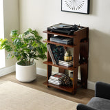 Crosley SOHO Turntable Stand - Mahogany-The Best Handy Crafts
