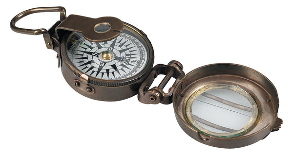 Authentic Models-WWII Replica Pocket Compass-CO014-The Best Handy Crafts