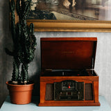 Crosley Lancaster with Bluetooth (in) Entertainment Center-The Best Handy Crafts