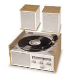 Crosley Switch II Entertainment Turntable Shelf System-The Best Handy Crafts