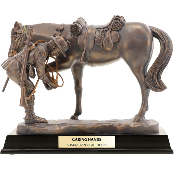 Caring Hands Light Horse Figurine-The Best Handy Crafts