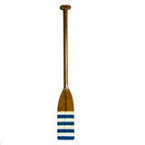 Authentic Models-Royal Barge Oar, Blue & White Stripes-FE126-The Best Handy Crafts