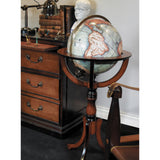 Authentic Models-Standing Library Globe-The Best Handy Crafts