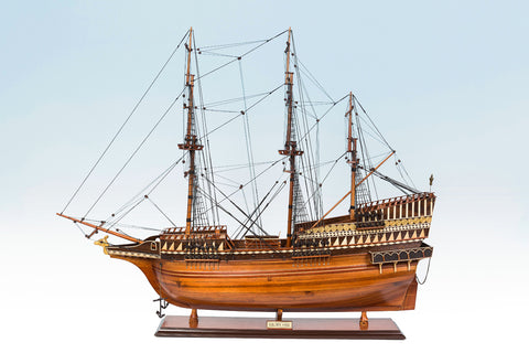 Golden Hind Ship Model