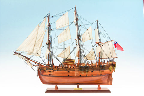 HMB Endeavour Ship Model Medium-The Best Handy Crafts