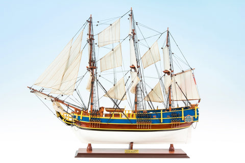 HMS Bounty Painted Ship Model