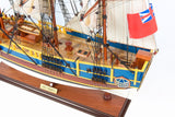 HMS Bounty Painted Ship Model-The Best Handy Crafts