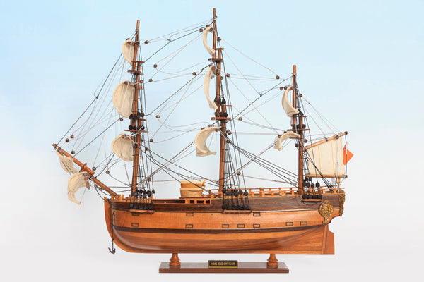 HMB Endeavour Ship Model Small-The Best Handy Crafts