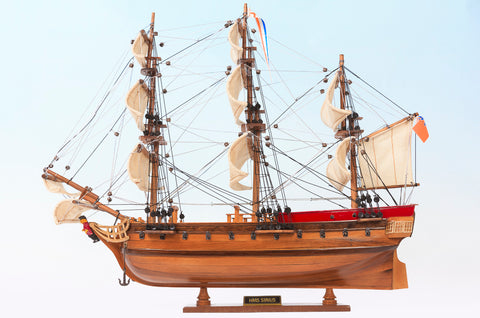 HMS Sirius Ship Model Small
