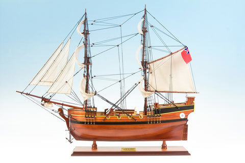 HMS Supply Ship Model