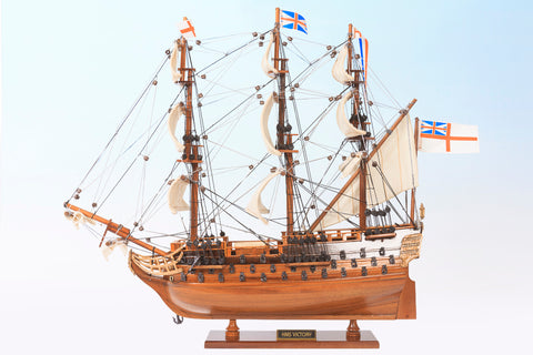 HMS Victory Ship Model Small-The Best Handy Crafts