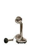Vintage Style Chrome Candle Stick Telephone-The Best Handy Crafts