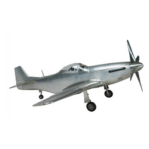 AM Aluminium P51 Mustang Airplane Scale Model AP459