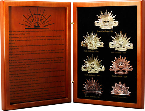 Master Creations-History Of The Rising Sun Hat Badge Collection-MS2897L-The Best Handy Crafts