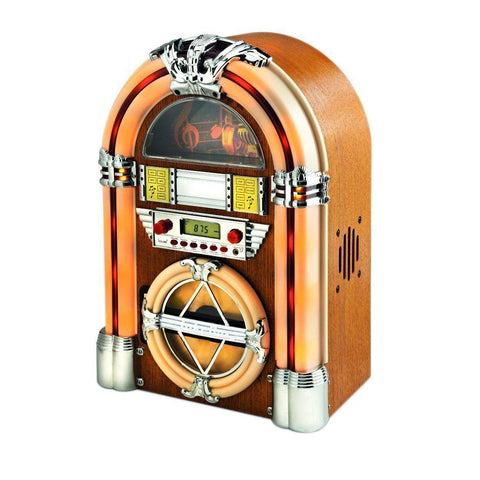 SoundFlight-Mini Retro Jukebox Style CD Player With Bluetooth-The Best Handy Crafts