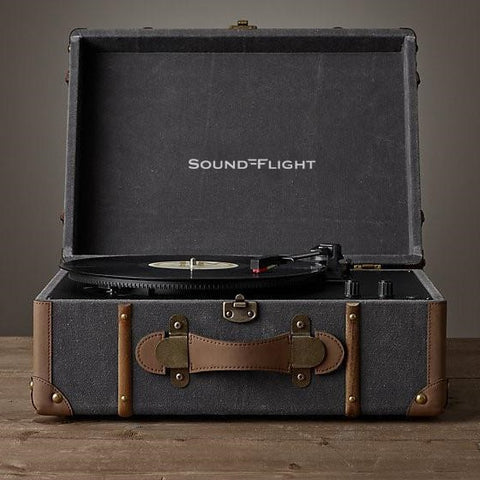 SoundFlight Trunk Encoding Retro Turntable RETRUNKRP