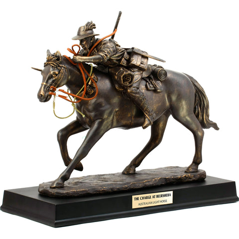 Master Creations-The Charge at Beersheba Light Horse Figurine-MS42008L-The Best Handy Crafts