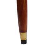 Floral Etched Knob Walking Stick