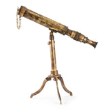 Best Handy Crafts-Vintage Nautical-Folding Tripod Stand Brass Telescope-TN108