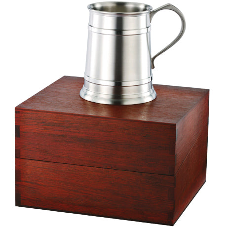 Straight Sided Tankard in Wooden Gift Box