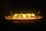 RMS Titanic Cruise Model With Lights
