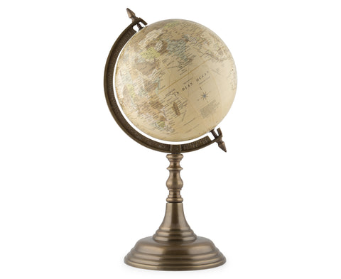 65cm Brown Colour Ocean Globe on Wooden Stand WG100