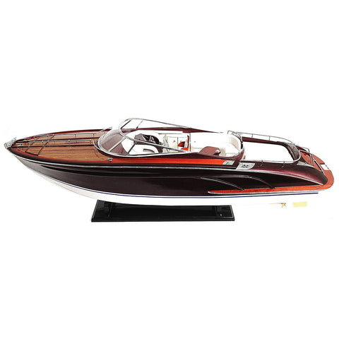 Best Handy Crafts AM Riva Rama Speed Boat Model - Large WSC001