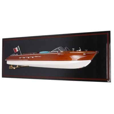Best Handy Crafts AM Aquarama Speed Boat Model - Half Hull WSC003