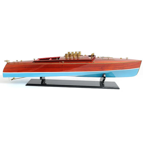 Best Handy Crafts AM Dixie II Speed Boat Model WSC006