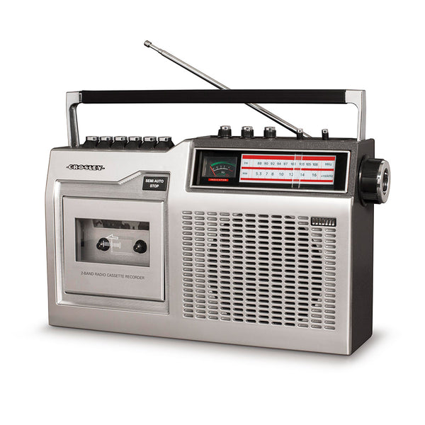 Crosley CT200 Cassette Player - Paypal & Zippay Available CDCT200A-SI