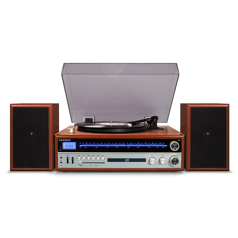 Crosley 1975T Entertainment System - Walnut CR6038A-WA