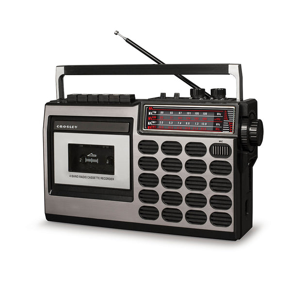 Crosley CT100 Cassette Player CRCT100A-SI