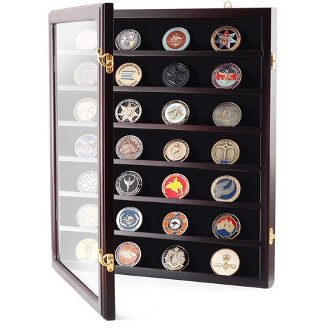 Challenge Coin Display Case