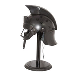 Black Gladiator Helmet With Spikes-The Best Handy Crafts