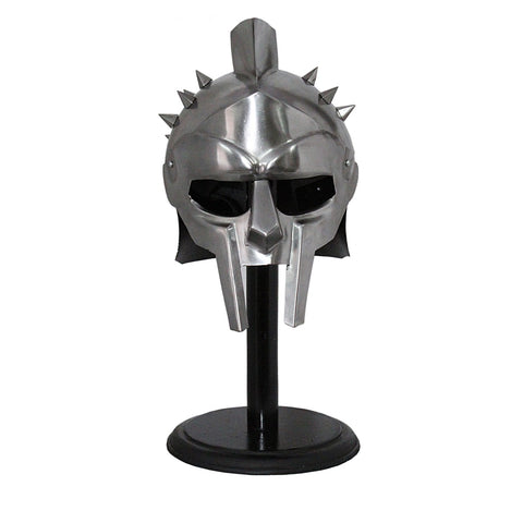Maximus Gladiator Helmet With Spikes