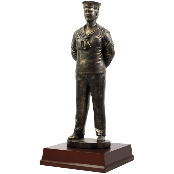 Master Creations-Male Junior Sailor Figurine-MS21986L-The Best Handy Crafts