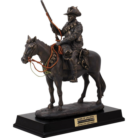 Master Creations-Australian Light Horse Figurine-MS28706L-The Best Handy Crafts