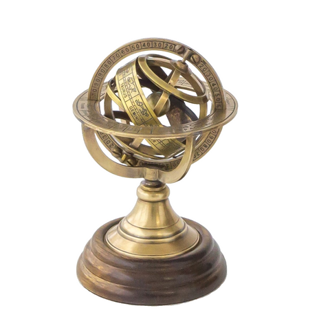 Brass Armillary (Astro Globe) - Small-The Best Handy Crafts