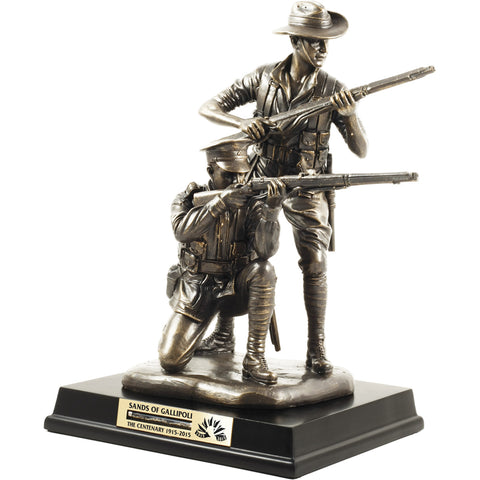 Master Creations-Their Spirit Gallipoli Centenary Figurine-MS31394L-The Best Handy Crafts