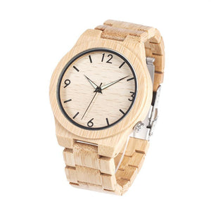Bamboo Luxury Wooden Watch